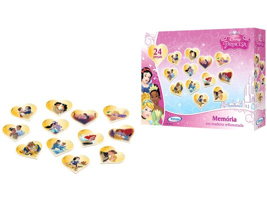 Memória Princesa Disney Xalingo
