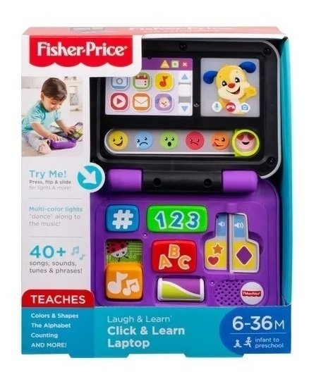 Meu Primeiro Laptop Fisher-Price