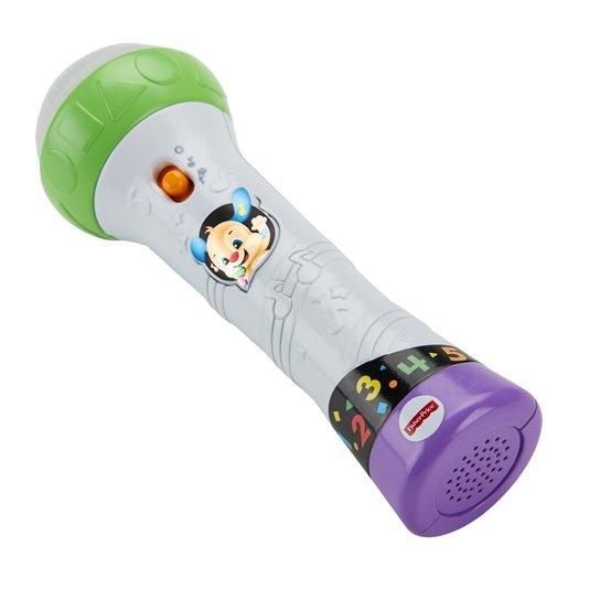Microfone do Cachorrinho Aprender e Brincar Fisher-Price