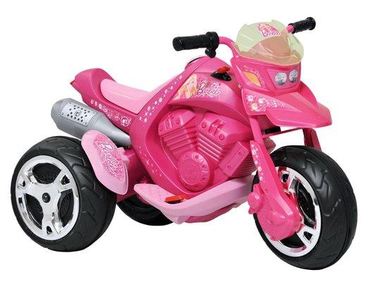 Moto Elétrica Sport Barbie 6V Bandeirantes