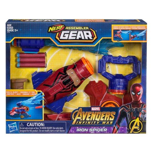 Nerf Avengers Homem-Aranha Hasbro