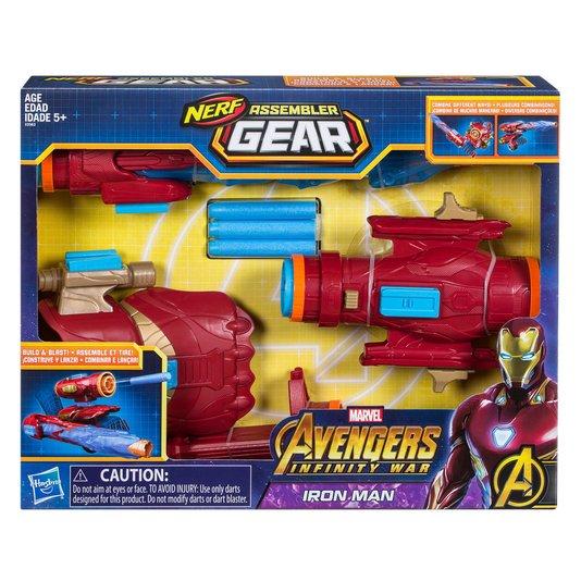 Nerf Avengers Homem de Ferro Hasbro