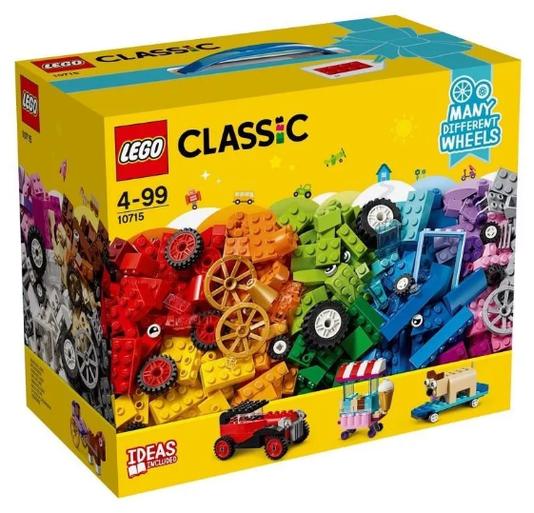 Peças Sobre Rodas Lego