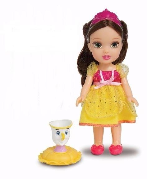 Pequena Princesa Bella com Pet Amigo Disney Mimo