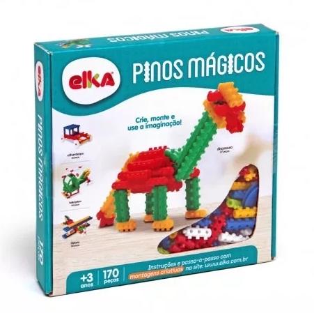 Pinos Mágicos Caixa com 170 Peças Elka