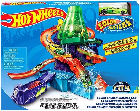 Pista Hot Wheels Estação Científica  Color Change Mattel