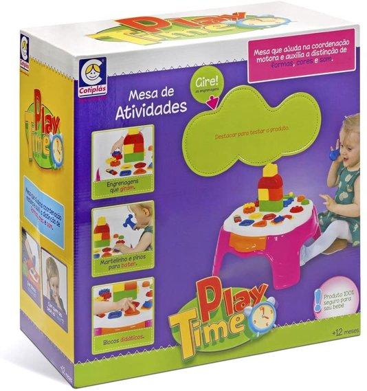 Play Time Mesa de Atividades Rosa Cotiplás