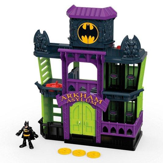 Playset Imaginext DC Super Friends Arkham Asylum Fisher-Price Mattel