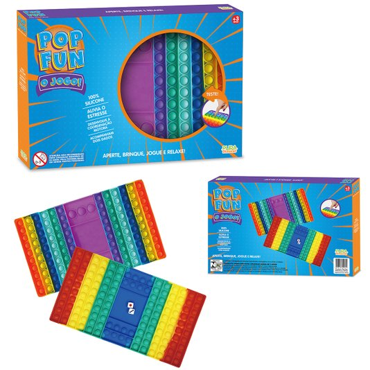 Pop Fun O Jogo Pop It Tabuleiro Yes Toys