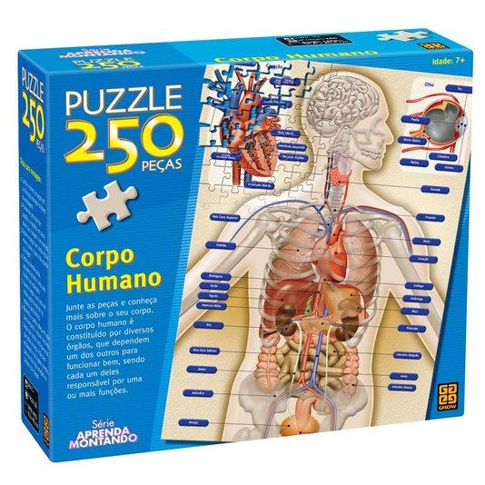 Puzzle Corpo Humano 250 Peças Grow