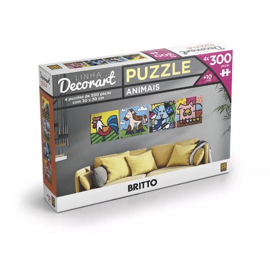 Puzzle Decorativo Romero Britto Grow