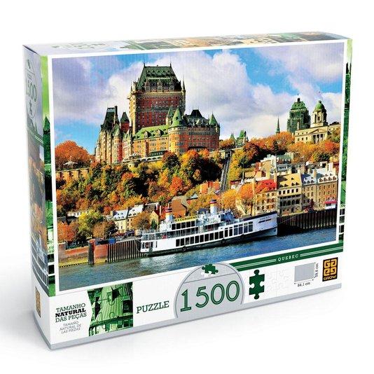 Quebra-Cabeça Quebec 1500 Peças Grow