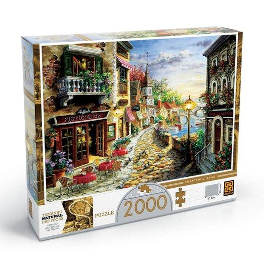 Quebra-Cabeça Villaggio Di Itália 2000 Peças Grow