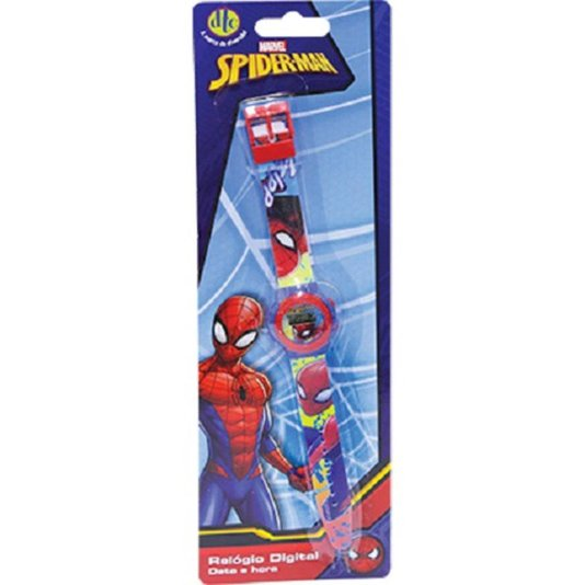 Relógio Digital Spiderman Marvel DTC