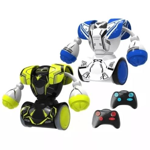 Robô Kombat Batalha Boxeadores Silverlit Dtc Toys