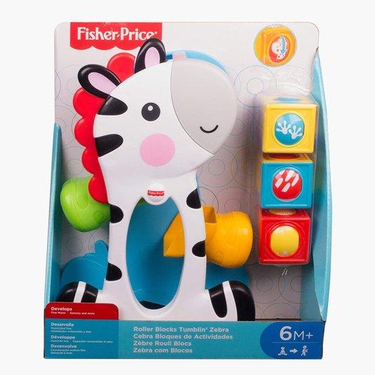 Zebra Blocos Surpresas Fisher-Price Mattel