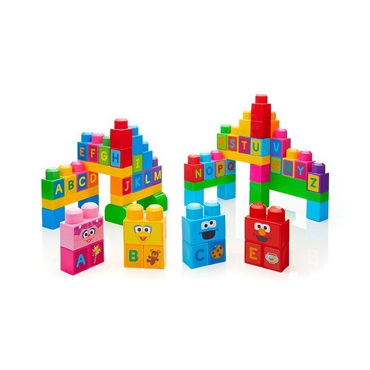 Mega Bloks Sacola ABC Sesame Street Fisher-Price Mattel