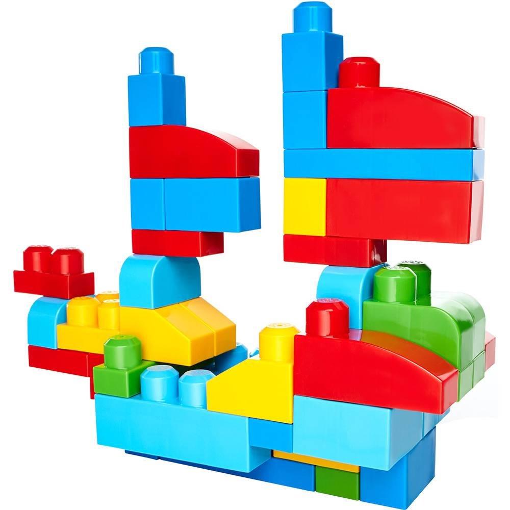 Mega Bloks Sacola com 80 Peças Fisher-Price