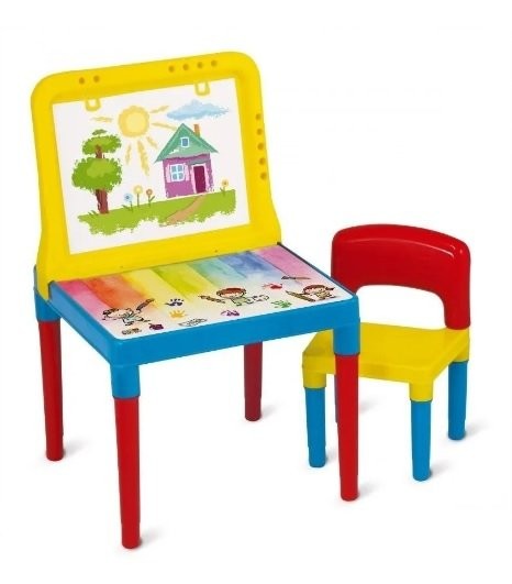 Mesa Infantil Pequeno Artista Bell Toy