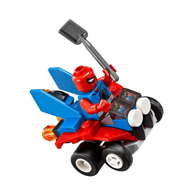 Mighty Homem-Aranha vs Homem-Areia Lego