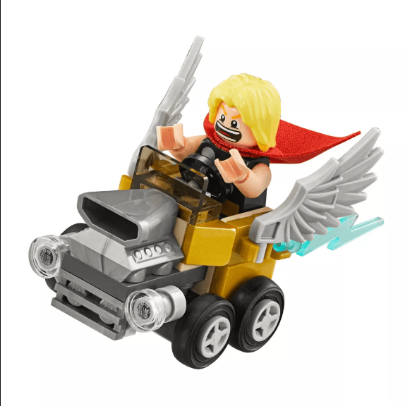 Mighty Micros Thor vs Loki Marvel Lego