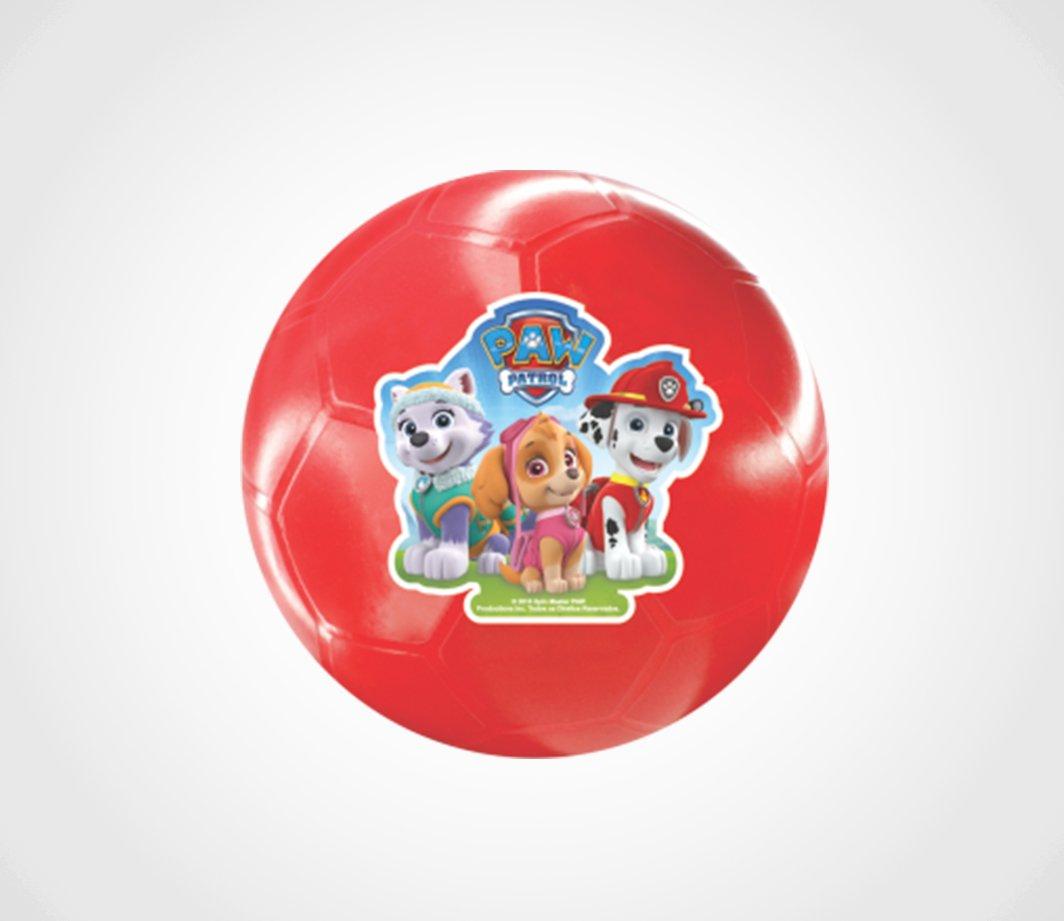 Mini Bola Vinil na Caixa Patrulha Canina Lider