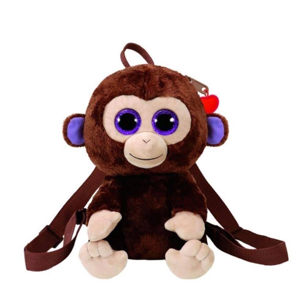 Mochila Pelúcia Macaco Coconut TY DTC