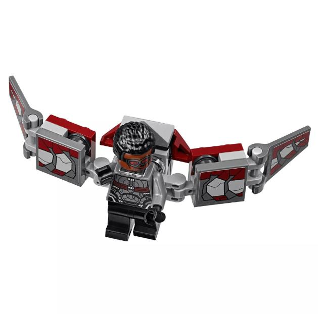 O Ataque Destruidor de Hulkbuster Lego