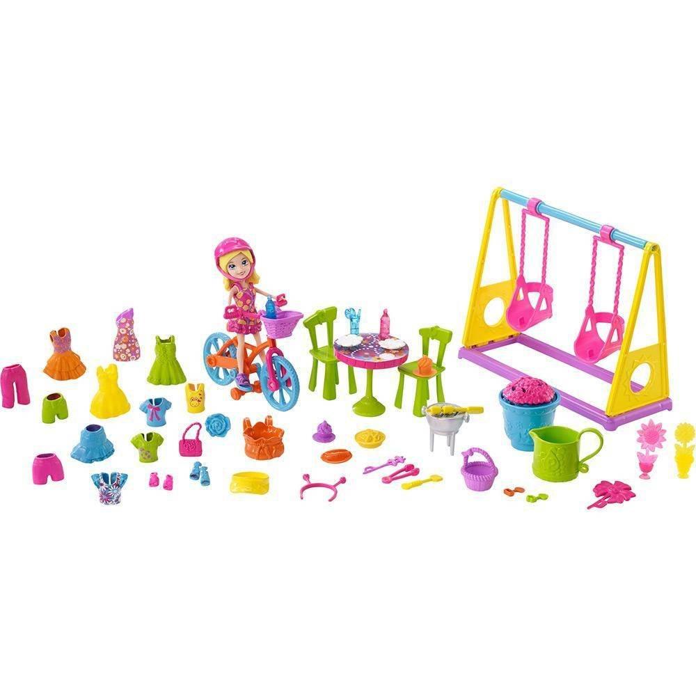 Polly Pocket Diversão no Jardim Mattel