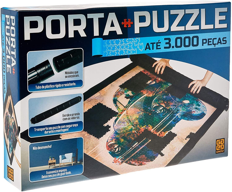 Porta Puzzle até 3000 Peças Grow
