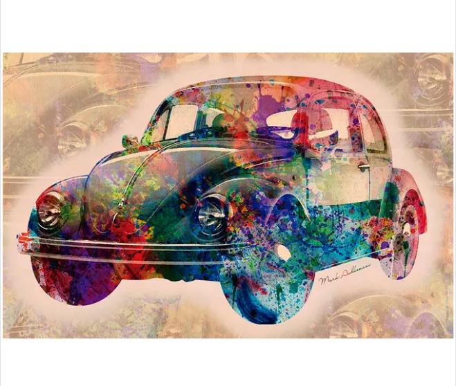 Puzzle Vintage Car 3000 Peças Grow