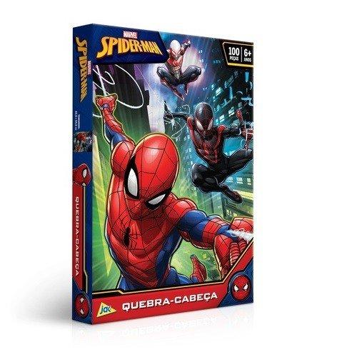 Quebra-Cabeça 100 Peças Encapado Spider-Man Toyster