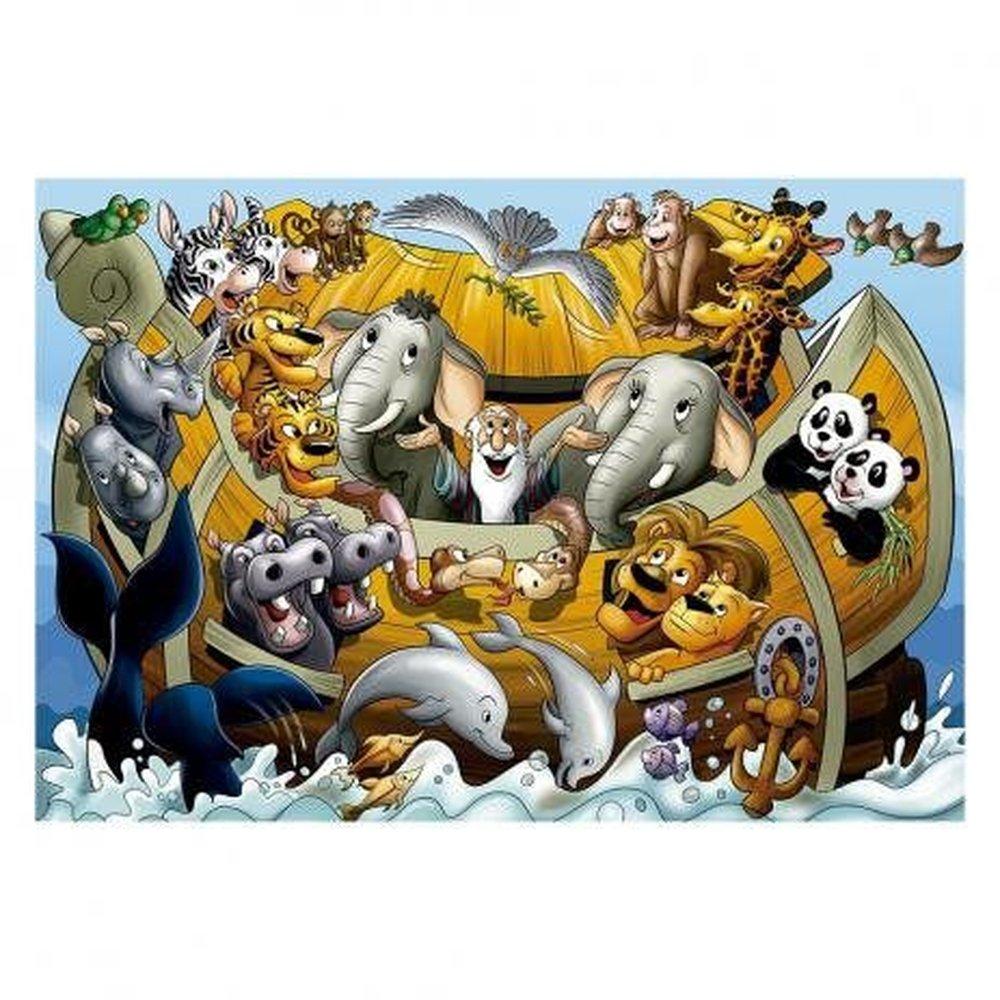 Quebra-Cabeça Arca de Noé 30 Peças Grow