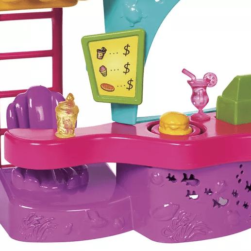 Quiosque Parque Aquático Polly Pocket Mattel