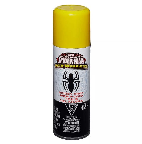 Refíl Fluído Teia de Aranha  Ultimate Spider Man Web Warriors Hasbro