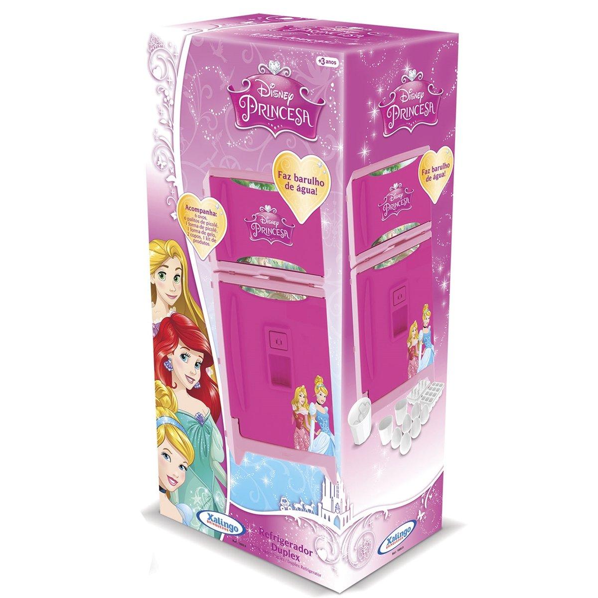 Refrigerador Duplex com Som Princesas Disney Xalingo