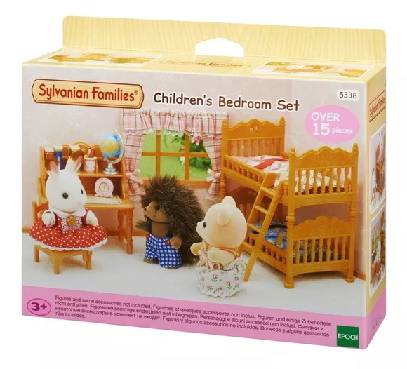 Sylvanian Families Conjunto Quarto Infantil Epoch