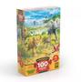 Quebra-Cabeça Filhotes da Savana 100 Peças Grow