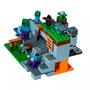 A Caverna do Zombie Minicraft Lego