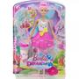Boneca Barbie Dreamtopia Fada Bolhas Mágicas Mattel